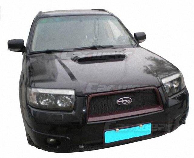 Subaru Forester STI modifizierten kohlefaser haube haube öffnung ...