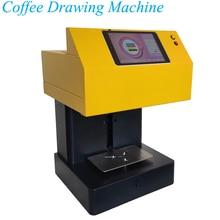 Vertical Coffee Latte Art Maker 220V Coffee Latte Drawing Machine Edible Intelligent Automatic Milk Cap Milk Foam Printer цена и фото