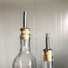 WOWSHINE European Order Free shipping handworked 10pcs/lot cork wine pourer bottle oil vinegar bottles pourers
