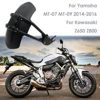 For Yamaha MT07 MT 07 MT09 MT 09 FZ250/XJR400/XJR1200/FZ1N/FZ6 Motorcycle Fender Rear Cover Back Mudguard Splash Guard Protector