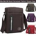 Pequeno crossbody sling bag para ipad mini 4 2 3 caso universal 7.9, 8 polegada Tablet Laptop Ombro Messenger Bag Bolsa Sleeve Capa