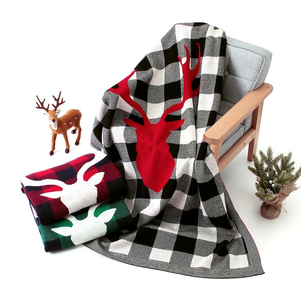 Baby Blankets Newborn 100%Cotton Knit Infant Swaddle Wrap Blanket 100*80cm Toddler Kids Stroller Basket Bed Cover Children Quilt