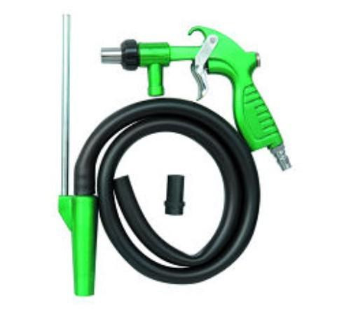 Free shipping Green Sand blast gun with hose and ceramic nozzle used on sand blaster