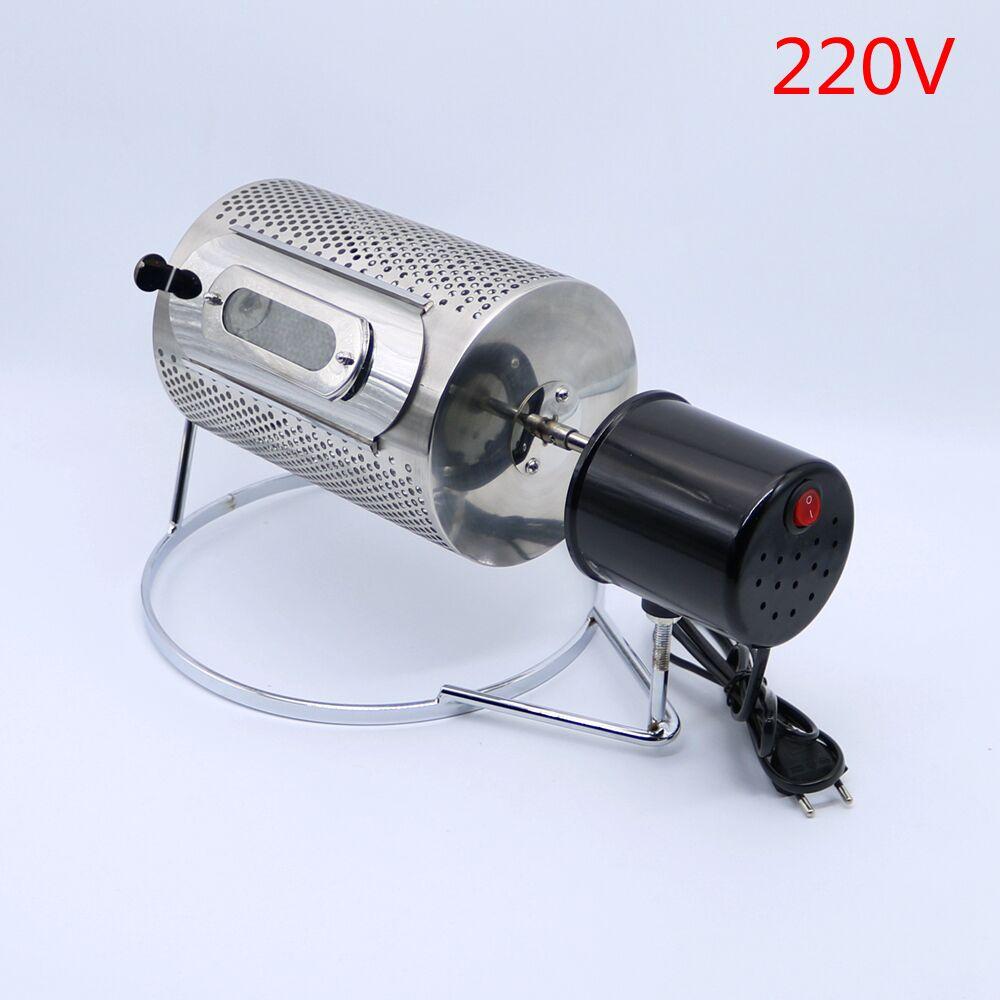 220V Stainless Steel Coffee Bean Baking Machine Home Mini Coffee Bean Roasters(China)