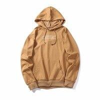 2017 New Autumn Winter Men Hip Hop Hooded Coats Jacket Mens Sweatshirts Brand Pullover Hoodies Cotton