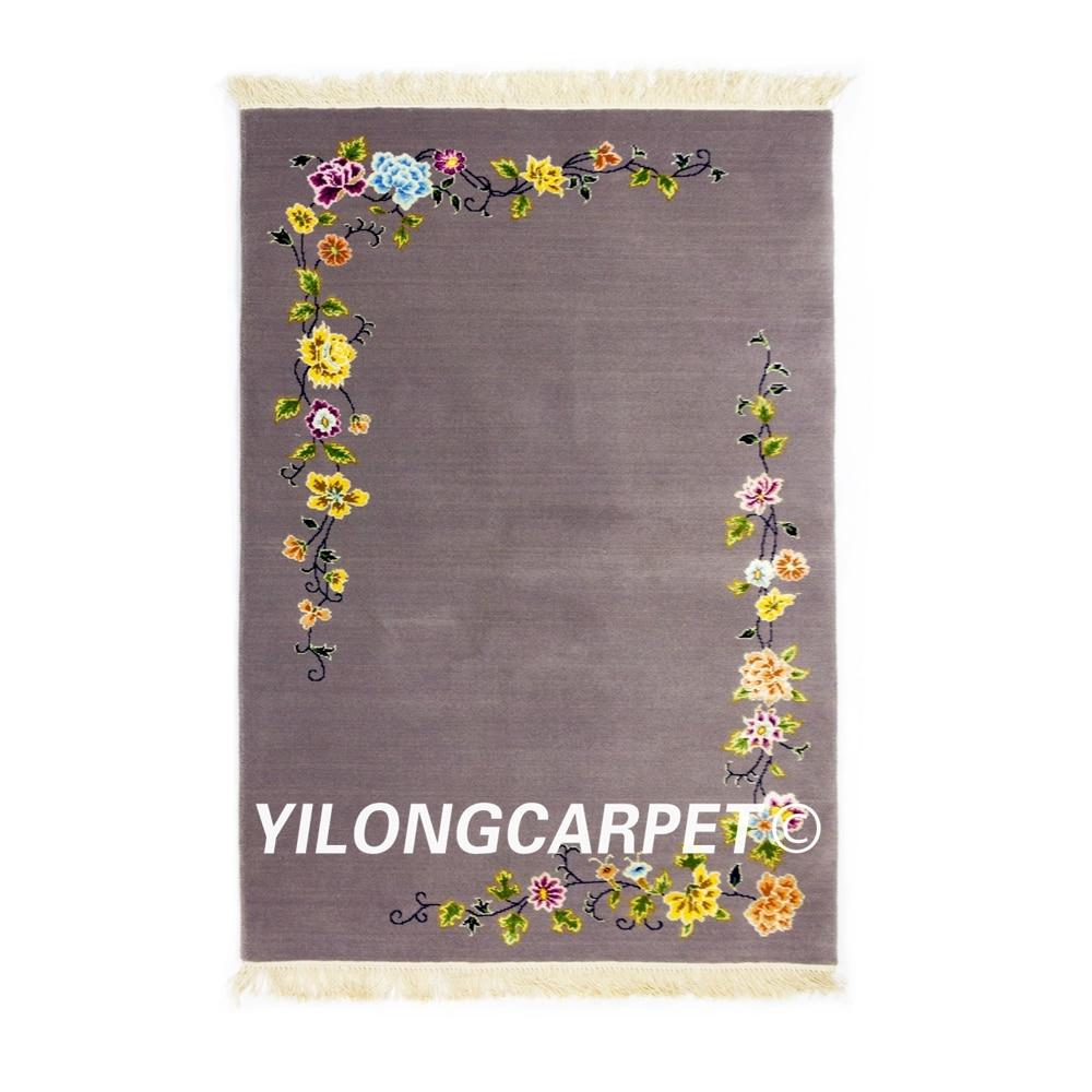 YILONG 3'x4. 7' заводская цена 2018 новый дизайн шерсть небольшой ковер ручной ковер в китайском стиле (TJ030S3x4.7)