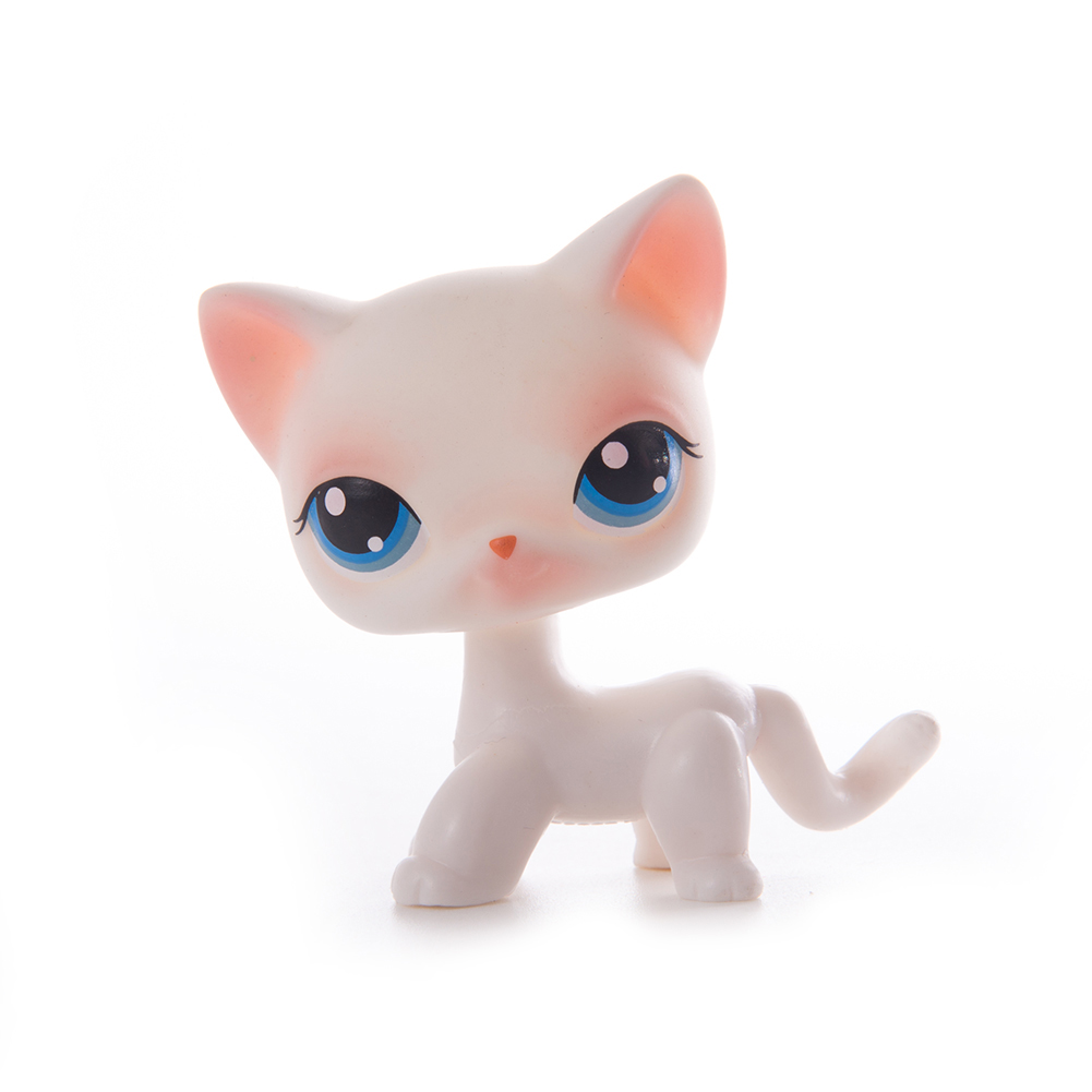 Original Lps Pet Shop Toy Free Shipping Shorthair Cocker Spaniel Great Dane Tiger Lps Action Figure toys for children Best Gift