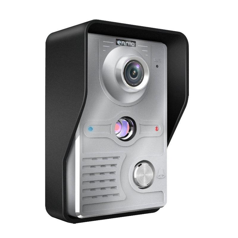 Image 4 - 7 Inch Video Door Phone Doorbell Intercom Kit 2  camera 1 monitor Night Vision-in Video Intercom from Security & Protection