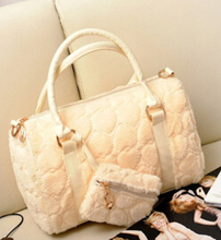Korean Fashion Plush Bag
