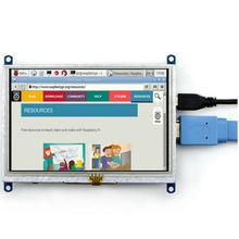 800*480 5 дюймов ЖК-дисплей HM Сенсорный экран Дисплей модуль TFT ЖК-дисплей для Raspberry Pi BB Черный Банан pi/ банан Pro