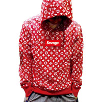 2017 100 Cotton 21 Savage Street Wear Suprem Hoodies Parody No Heart X Savage Fear Of