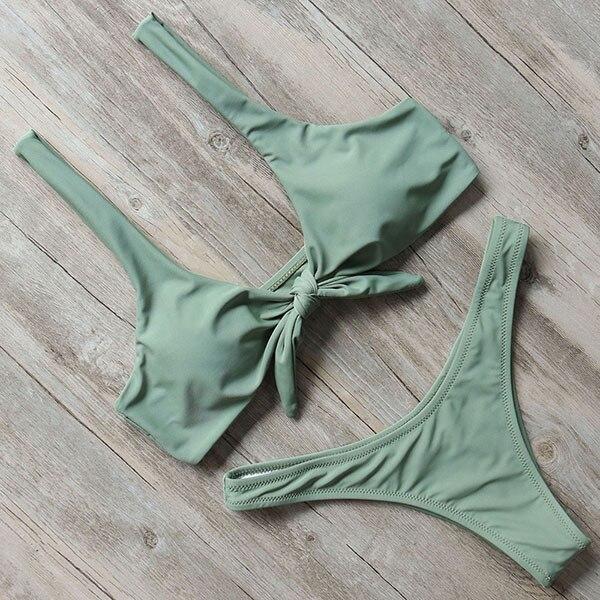 RUUHEE Brazilian Bikini Swimwear Women Swimsuit 2019 Micro Bikini Set Push Up Bathing Suit Beach Wear Maillot De Bain Femme