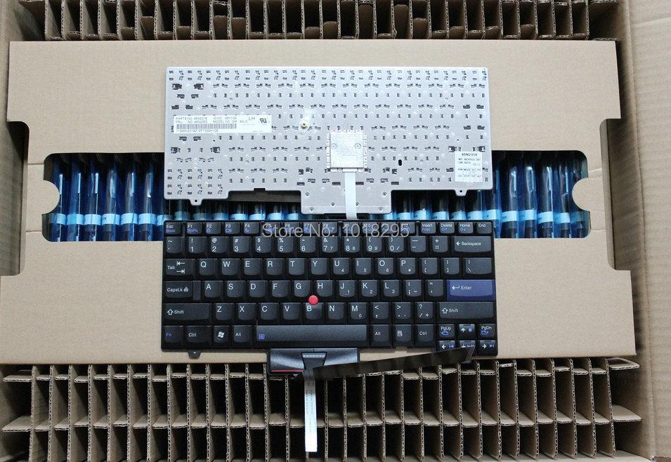 New  for IBM ThinkPad Laptop SL410 SL410K SL510 L421 L410 L510 L412 series Black US Keyboards new free shipping laptop us keyboard for lenovo ibm thinkpad l410 l510 sl410 sl510