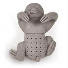 Silicone Sloth Tea Infusers 2pcs/lot Herbal Spice Filter Tea Accessories Make Tea Bag Filter Green Tea Strainer .