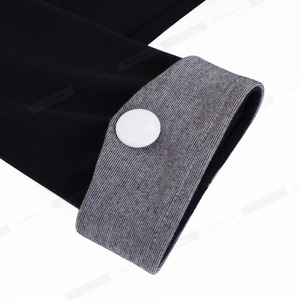 Image 5 - Nizza Per Sempre Vintage Matura Patchwork Button Manica Corta Con Scollo A V Indossare al Lavoro Aderente Donne Ufficio Vestito Aderente Slim B364