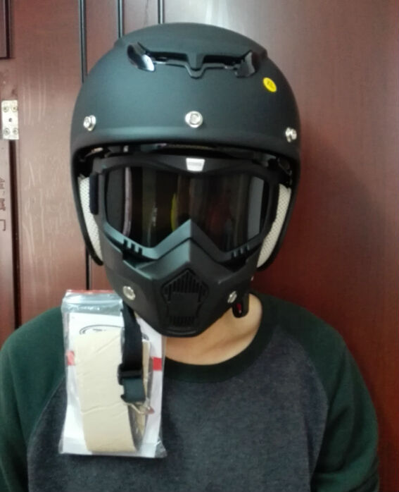Motorcycle Mask and Goggles ElX0oUZo