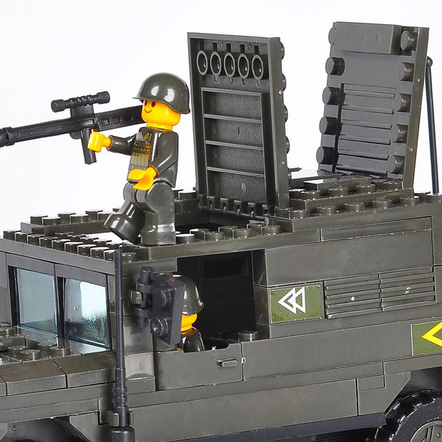 Boys Military Building Blocks