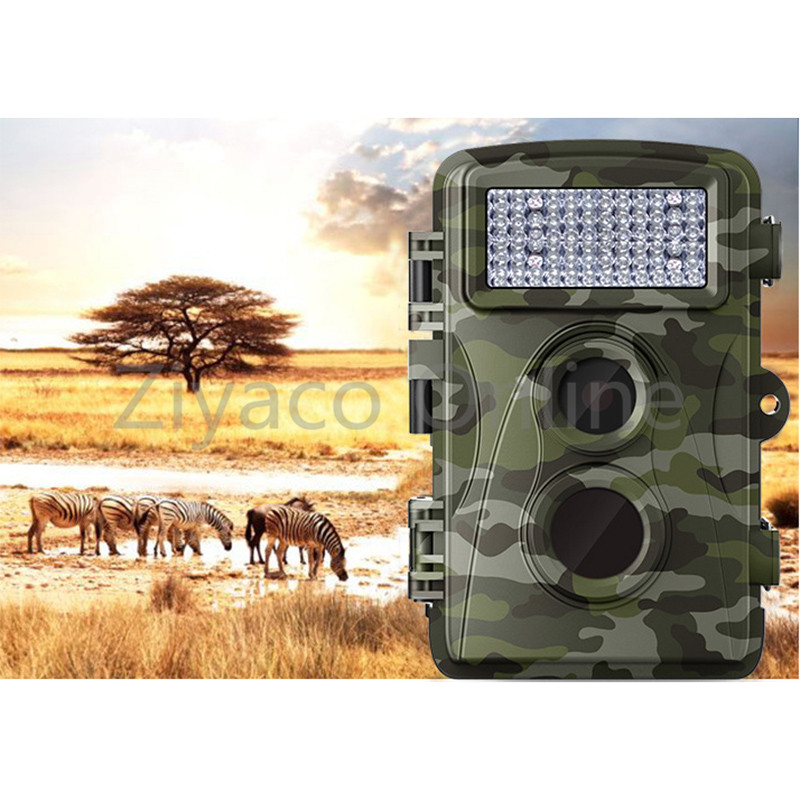 Rainproof Digital Scouting Hunting Detection Trail Camera Trap Wildlife IR Infrared LED Video Recorder Night Vision Cam 3pcs lot dhl free quality wildlife hunting camera 12mp hd digital infrared scouting trail camera 940nm ir led night vision video