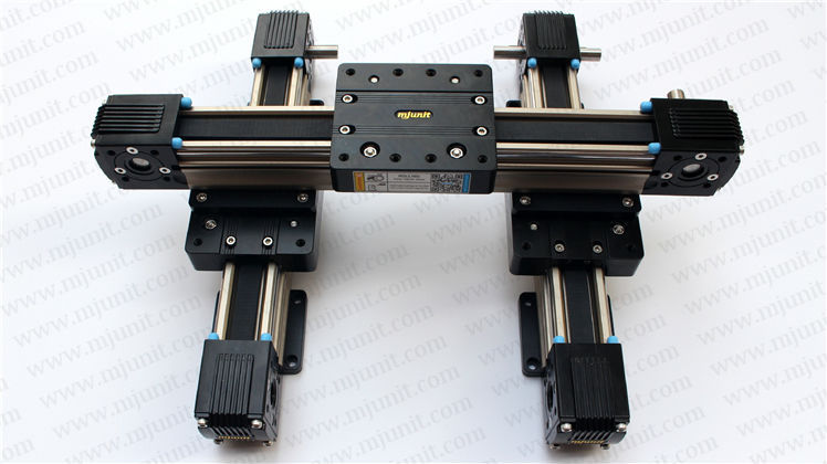 Linear Belt Drive Rail Aluminum Alloy Heavy Load Type Linear Guide Belt drive linear actuator robot belt drive linear actuator 1000mm travel linear units with belt drive and slide guide wheel guide