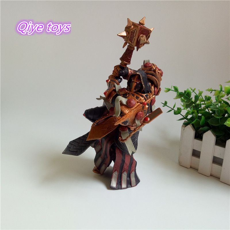 Game WOW Paladin Judge Malthred Action figure Toy Character PVC Figure 21cm Figurine Doll Gift 2