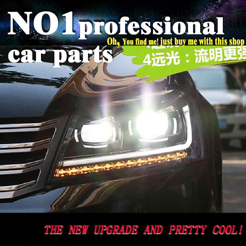OUMIAO voiture style pour nouvelle VW Passat B7 phares 2012-2015 Passat phare LED DRL Bi xénon lentille feux de croisement