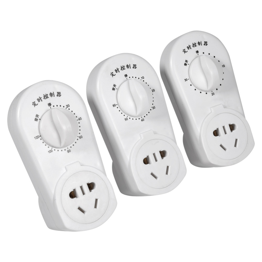 AU Plug AC 220V 10A Pump Timer Switch 30/60/120 Min Pump Timer Mechanical Time Switch Countdown Control Socket White [zob] hagrid eh771 timer switch 1 channel cycle timer switch control switch import import
