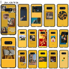 Lavaza Yellow Aesthetic illustration Soft Case for Galaxy Note 8 9 S7 edge S8 S9 S10 Plus S10e M10 20 30 Cover