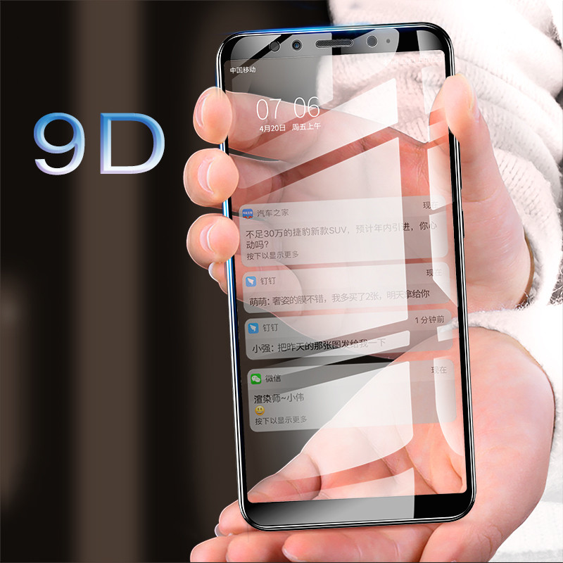 9D Tempered Glass on for Xiaomi Mi A2 Lite A1 Screen Protector Protective A3 tempered glass film 9H