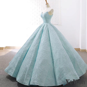 Image 5 - V boyun mavi dantel tül abiye 2020 uzun artı boyutu düğün parti elbise balo resmi elbise zarif balo elbisesi