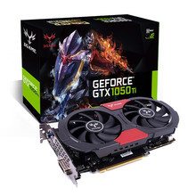 Colorful iGame GTX 1050 Ti GPU 4GB GDDR5 128bit Gaming Video Cards Graphics Card td0211 DropShip