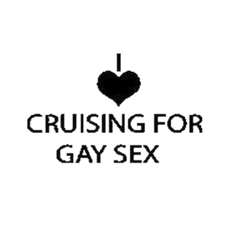 I love gay sex
