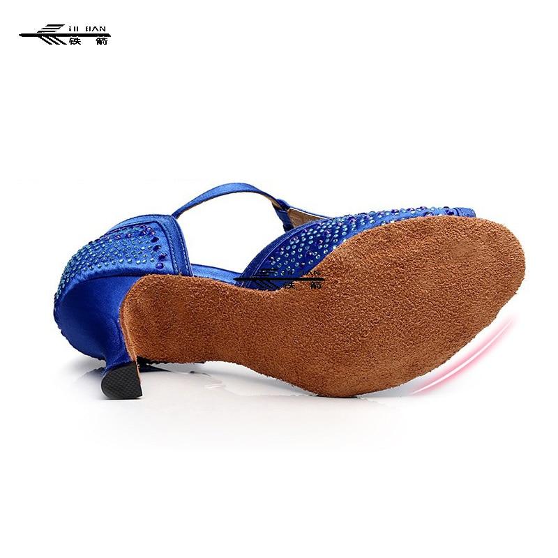 Blue/Black/Purple/Tan Satin Classic Ballroom Latin Salsa Tango Dance Shoes ALL SIZE