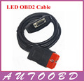 OBDII OBD II Cable LED Obd2 CDP Reemplazo Conveniente para CDP/CDP TCS CDP PRO PLUS Cable OBD LED partes