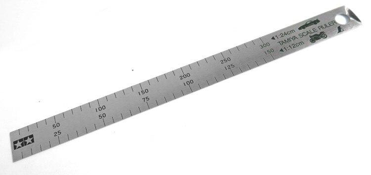 TAMIYA 74025 Scale Ruler 1//12 /& 1//24 PLASTIC MODEL KIT CRAFT TOOLS NEW