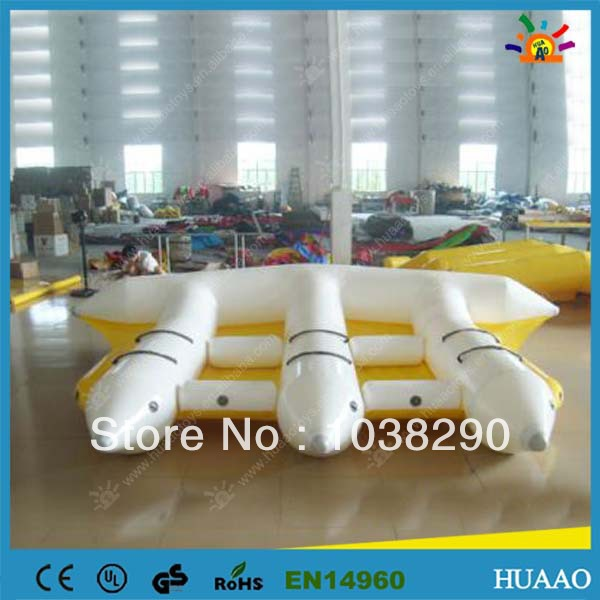 6 person inflatable flyfishing flies with free shipping and free CE/UL pump,repair kit funny summer inflatable water games inflatable bounce water slide with stairs and blowers