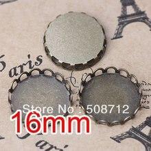 dardanel tone fillet 125 g free shipping Free shipping!!! Bronze Tone Cabochon Frame Settings 16mm