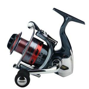 Image 3 - Deshion 13 + 1BB pas cher pêche sattaque à la filature roues de pêche 1000 7000 série bobine de pêche pour la pêche au bar