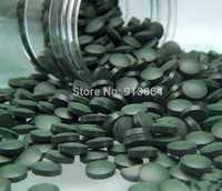 Export standard qualität Anti-müdigkeit Anti-strahlung Verbessern-immun 250g grün natürliche Spirulina maske Tablet schönheit material