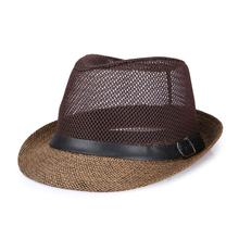 summer Womem Men Western Cowboy Hat With Wide Brim Punk Leather Belt Jazz Cap Cowboy Hats & Caps Summer Men's Solid