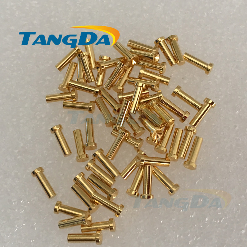 Tangda 2 4 9mm Spring needle connector contact female Connectors Round head A groove Contact base