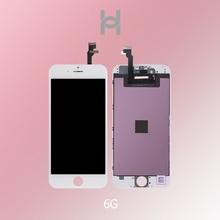 20 шт. AAA + качественный экран для iPhone 6G ЖК дисплей часть стеклянная Сенсорная панель дигитайзер полная сборка Замена Бесплатная доставка