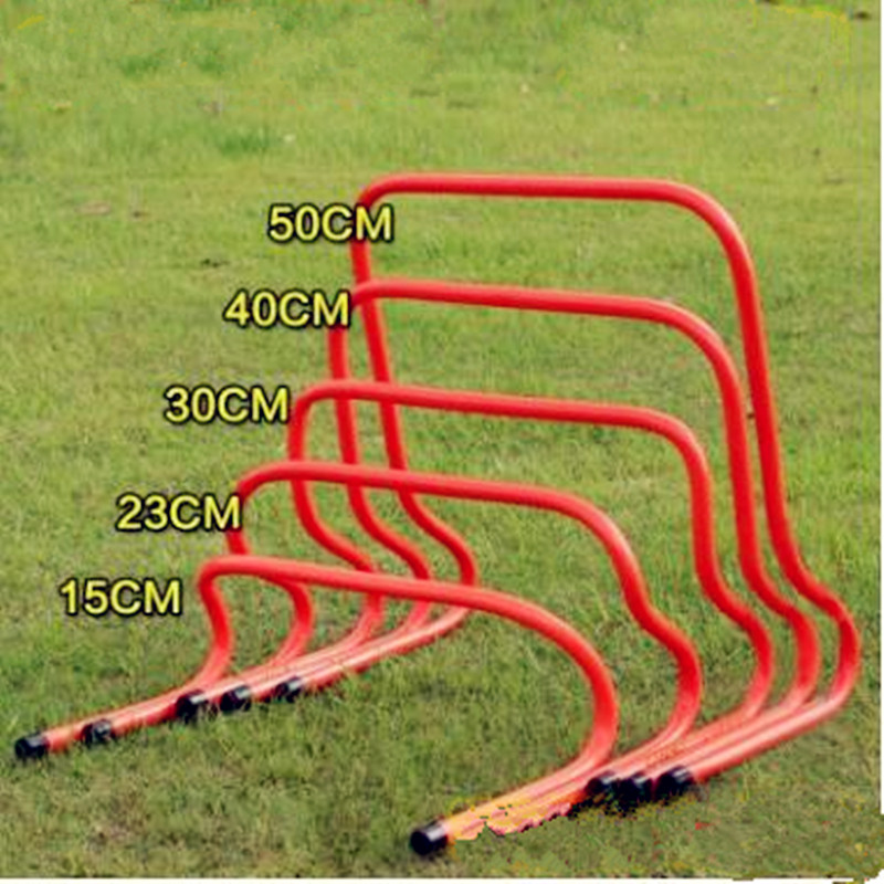 Soccer Hurdle Football Traning Barrier Frame Height Adjustable 15/30cm Football Soccer Speed Agility Hurdle Training Equipment