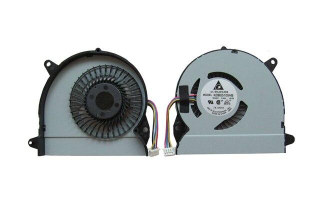 Nuevo ventilador de la cpu para asus u32j u32jc u32u u32v u32vj u82u x32 x32u kdb05105hb dc5v 0.4a 4pin