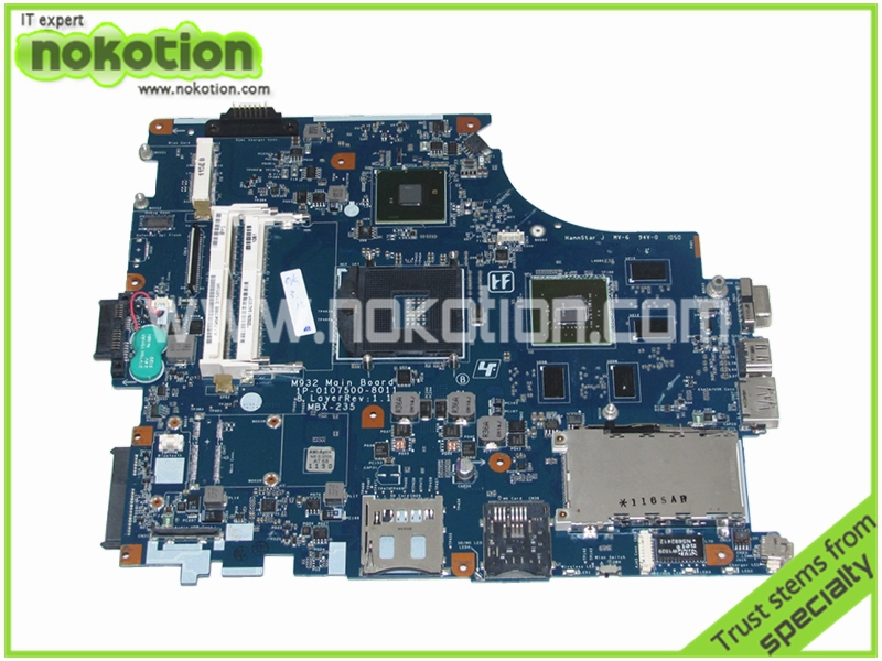 MBX 235 A1796418A laptop font b motherboard b font for Sony VPC F F136F M932 Main