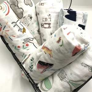 Newborn Blankets Swaddles Stroller-Cover Play-Mat Infant-Wrap Muslin Baby 100%Bamboo-Fiber