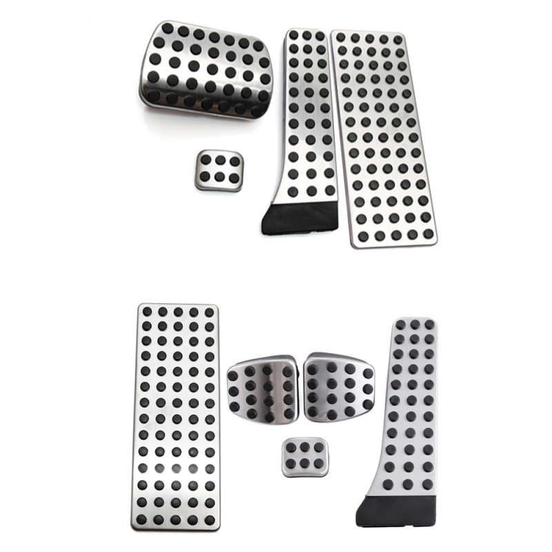 Car styling NO DRILL Car Fuel Brake Foot Pedal AT / MT for Mercedes Benz C E S GLK SLK CLS SL Class W203/W204/W211/W212/W210 AMG-in Pedals from Automobiles & Motorcycles