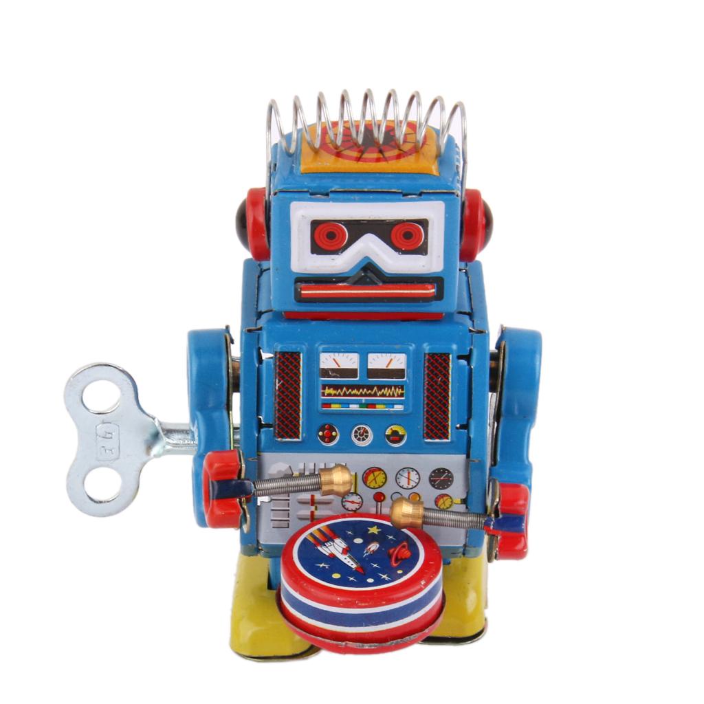 wind up robot ms estao clsico juguete juguetes divertidos atractivos modelo de robot de juguete hecho