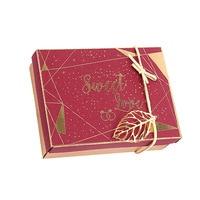 20 pcs Vintage Wedding Gift Box Flower Kraft Paper Cake Box Party Birthday Paper Gift Packaging Maccaron Floral Cupcake Boxes