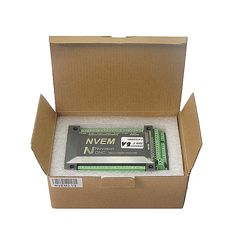 NVEM Mach3 Control Card 200KHz Ethernet-poort voor CNC router 3 4 5 6 As