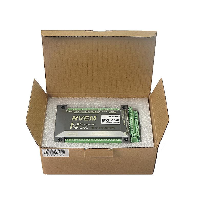 NVEM Mach3 Control Karte 200KHz Ethernet Port für CNC router 3 4 5 6 Achse